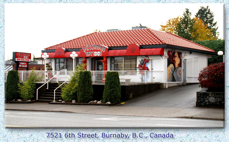 Dutchman tattoos burnaby your local tattoo shop for Tattoo shops in eau claire