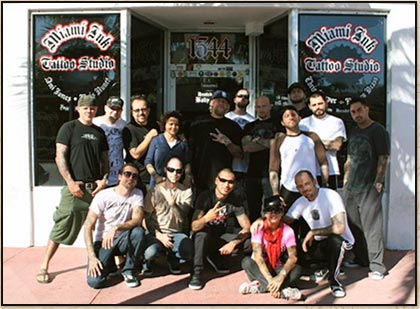 Love hate tattoos miami your local tattoo shop for Tattoo shops in miami beach