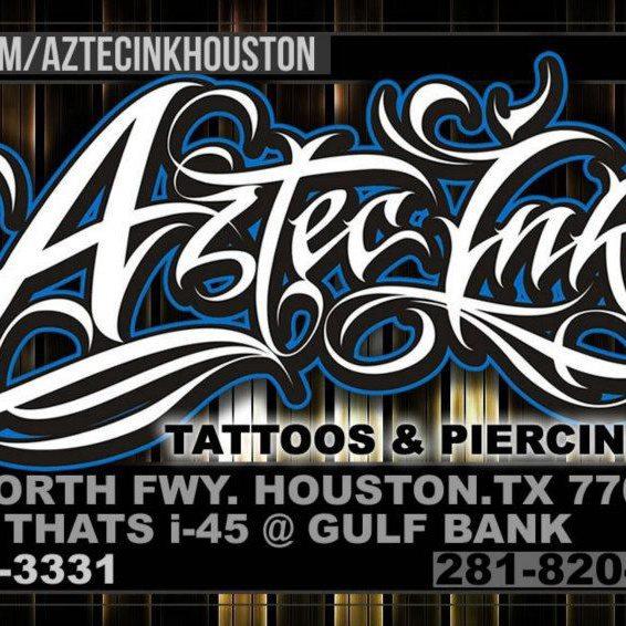 Aztec ink houston texas usa your local tattoo shop for Aztec tattoo shop phoenix az